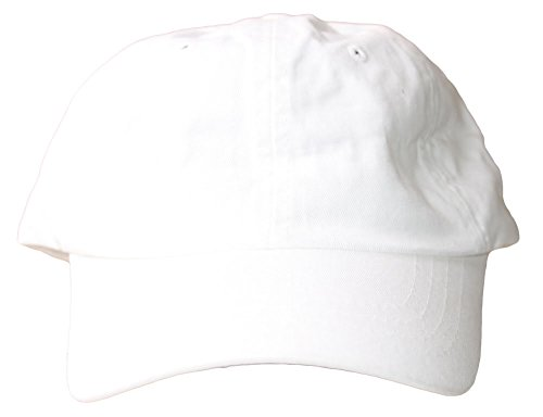 Low Profile Dyed Cotton Twill Cap - White ()