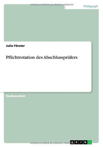 Download Pflichtrotation des Abschlussprüfers (German Edition) PDF
