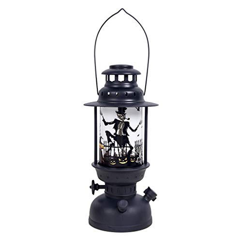 Portable Halloween Wind Light DOOIOR 5 Pcs Halloween Candle with Led Tea Light Candles for Halloween Decoration Party]()