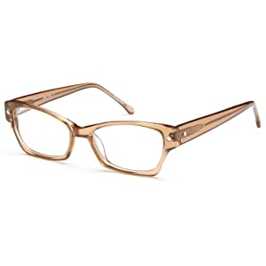 Womens Cat Eye Glasses Frames Brown Prescription Eyeglasses Rxable 51-17-140