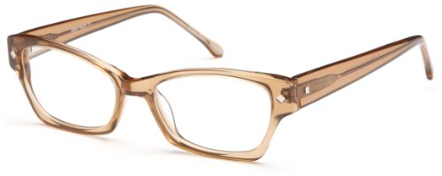 Womens Cat Eye Glasses Frames Brown Prescription Eyeglasses Rxable - Frames Brown Eyeglass