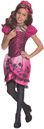 Raven Queen Costume (Rubies Ever After High Child Briar Beauty Costume, Child Medium Ages 5 -7)