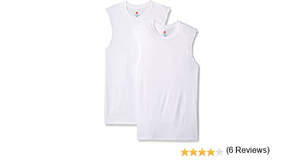 a5542a424996ca Hanes Men s Ultimate X-Temp 2 Pack FreshIQ Active Cool Sleeveless T-Shirts