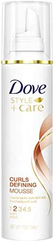 Dove STYLE+care Curls Defining Mousse, Soft Hold 7 oz