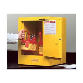 Flammable Liquid Storage Cabinet (Justrite 890420 Sure-Grip EX 4 Gallon, 22