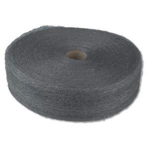 GMT Industrial-Quality Steel Wool Reel, 1 Medium, 5-Lb Reel, 6/Carton