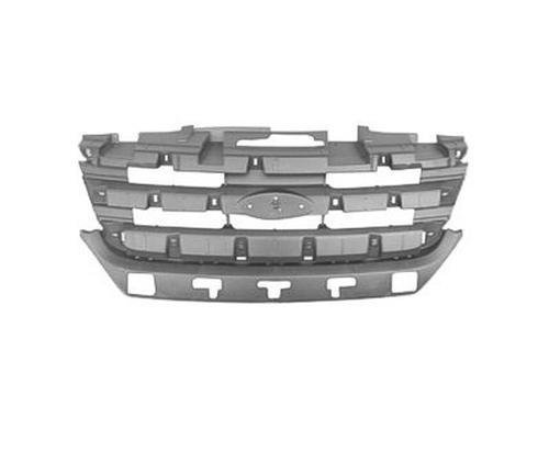 (CPP Grille Mounting Panel for 2010-2012 Ford Fusion FO1223114)