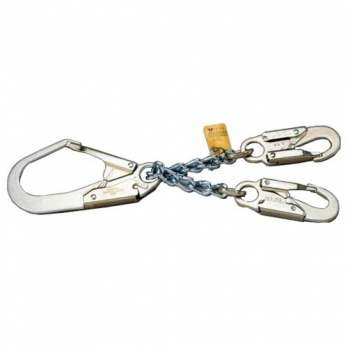 Snap Locking Hooks 2 - Miller Titan by Honeywell T8221/ Locking Rebar Chain Assembly with Two Locking Snap Hooks