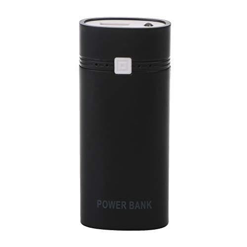 Aawsome DIY 2×18650 batería portátil 5600mAh Power Bank Box Shell con USB para iPhone para Samsung y otros teléfonos…