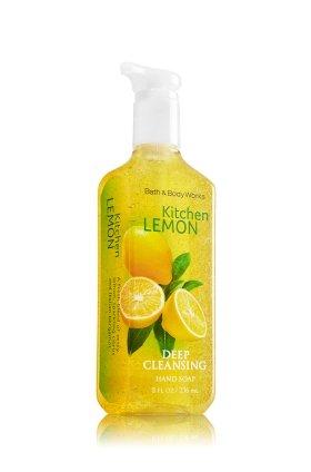 Bath & Body Works Kitchen Lemon Deep Cleansing Hand Soap 8 oz (236 ML)