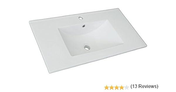 Platos de ducha y mamparas Encimera cerámica (80x46): Amazon.es: Hogar