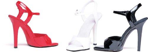 Ellie Shoes Women's 5 Inch Heel Sandal (Black;9)