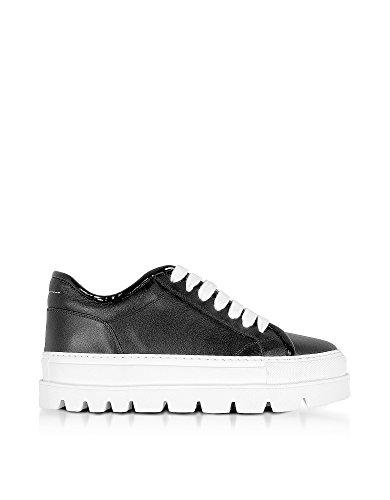 Maison Margiela 11 Mm6 Maison Margiela Donna S59ws0039sy0267961 Sneakers In Pelle Nera