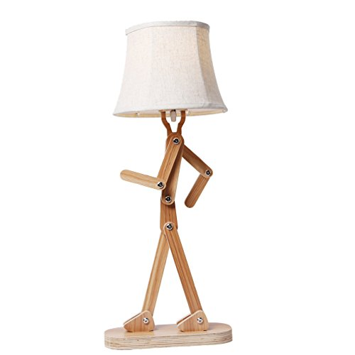 Voglee Novelty Cool Diy Desk Reading Lamp With Shade For