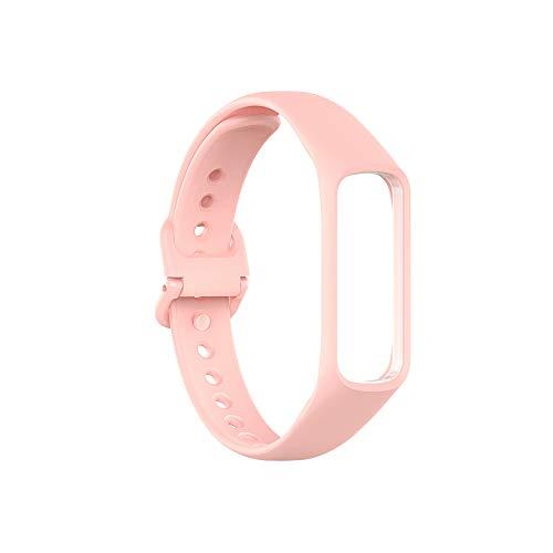 Malla silicona rosa Para Reloj Samsung Galaxy Fit 2