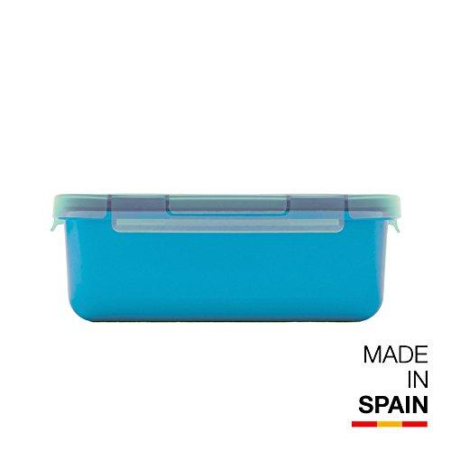 Valira Porta alimentos - Contenedor hermético de 0,75 L hecho en España, color