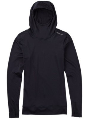 Damen Skiunterwäsche Burton Ak Power Stretch Hood Tech Tee LS
