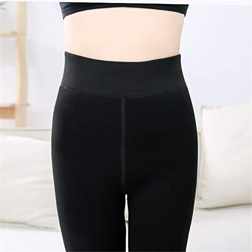 Invierno Terciopelo De E Pies Alto Incluso Meileg Súper Talle Mujer,otoño Leggings Pieza Pantalones Una Engrosamiento Más Nylon Suave xZqCYnwB