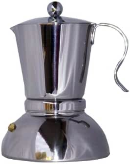 STELLA (Stellas) PASSIONE Passhione for IH espresso maker 6 cups (japan import): Amazon.es: Hogar