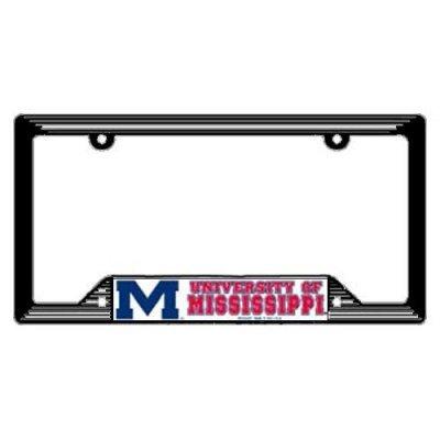 Mississippi Rebels License Plate Frame (Mississippi