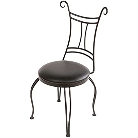 Waterbury Iron Side Chair Std Faux Leather In Rustico Coco 205709 OG 69907 O 280952 OG 142992 O 761099
