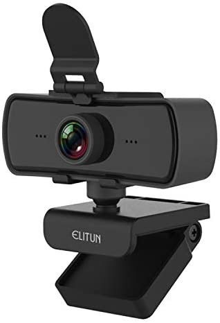 QHD USB COMPUTER CAMERA,2K (BETTER THAN 1080P) WEB CAMERA WITH PRIVACY COVER, WIDE ANGLE WEBCAM WITH NOISE REDUCING STEREO MICROPHONE FOR GAMING,STREAMING,VIDEO CONFERENCING AND REMOTE LEARNING