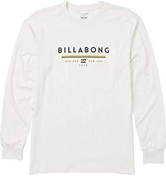 BILLABONG Hombre Manga Larga Camiseta - Beige - Small: Amazon.es: Ropa y accesorios