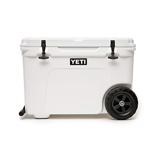 YETI Tundra Haul Portable Wheeled Cooler, White (Best Wheels For Tundra)