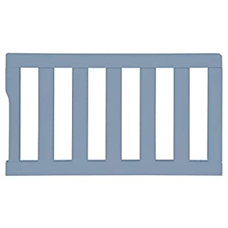 Dream On Me Universal Convertible Crib Toddler Guard Rail, Dusty Blue