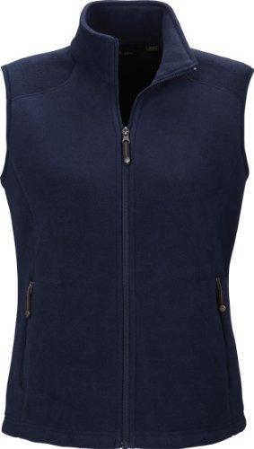 North End Womens Voyage Fleece Vest (78173) -CLASSIC NAVY -XL