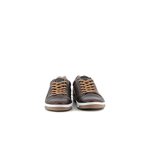 Bullboxer 621-K2-6325A Zapatos de Cordones Hombre Marron, EU 42