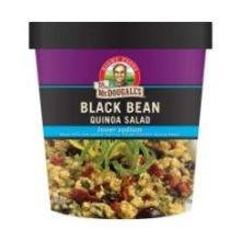 Dr. Mcdougall's Right Foods Lower Sodium Bean Quinoa Salad, Black, 2.6 Ounce (Pack Of 6) 6