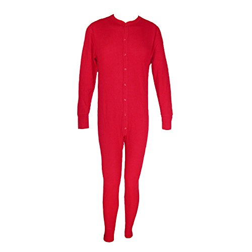 HANES Men's Big and Tall Thermal Insulated Union Suit, 4X...