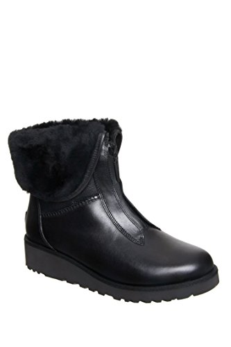 UGG Women's Caleigh Black Boot 7 B (M) - Ugg Boots Wedges Women