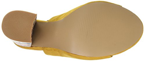 CASSIS COTE D'AZUR Women's Apala Ankle Strap Sandals Yellow (Jaune) YN7x1