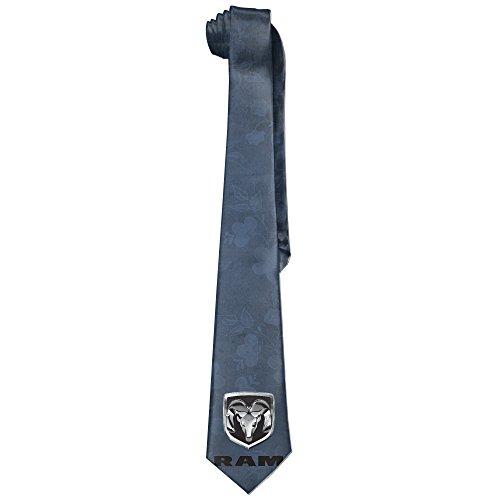 ONESEDA Men's Dodge Ram Logo Tie Necktie Ties (Dodge Intrepid Bank)