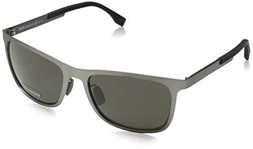 de Grey 58 Boss S Sol Hugo F Carbon Gafas Ruthen Grey para Dark Gris Matt M9 Boss 0812 Hombre HXR 8dqRT