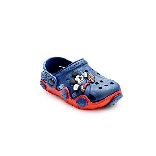 Fashion shoes Boy's & Girls' Dark Blue Clog – 1 Kids UK