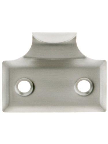 (Stamped Brass Hook Style Sash Lift in Satin Nickel)