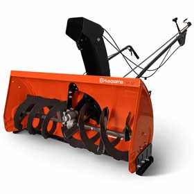 Husqvarna 967343901 Two Stage Lawn Tractor Mounted Snow Thrower (Manual Lift) by Husqvarna
