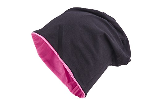 rosa y Disponible Negro Shenky en Gorro reversible colores bicolor varios wqpp6O