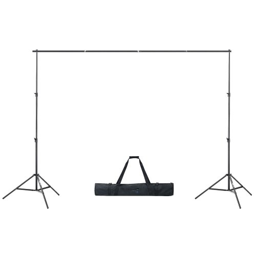 1040 SP2000 | Backdrop Background Support Stand For Muslins Scenic Backdrops and Chromakey Greenscreens or Bluescreens Chroma Key Digital Backdrops
