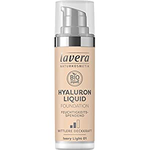 LAVERA Hyaluron Liquid Foundation Bases et Primers Ivory Light 01