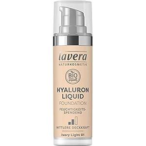 LAVERA Hyaluron Liquid Foundation Bases et Primers Ivory Light 01