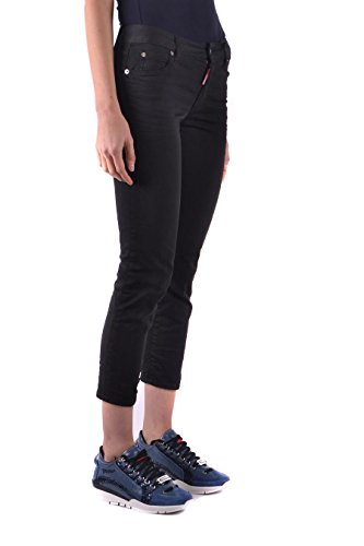 Cotone S75LB0014S44531900 Dsquared2 Jeans Nero Donna w7C6nfwqx