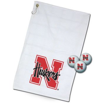 - Wincraft NCAA University of Nebraska Golf Gift Set