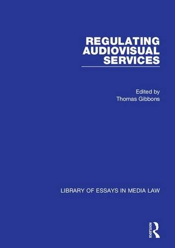 Regulating Audiovisual Services (Library of Essays in Media Law) by Brand: Ashgate