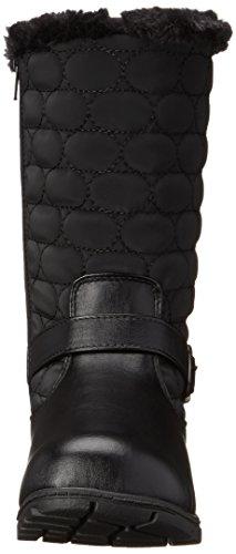 Soft Style by Hush Puppies Women's Pixie Boot, Black Vylon/Vitello, 6.5 M US