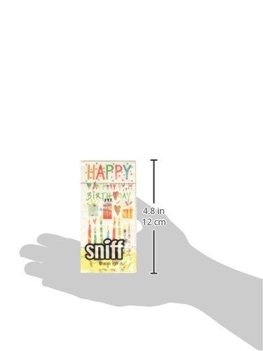 Paperproducts Design PPD 50792 Festive Happy Birthday Sniffs 6-Packs of 10 Tissues Each Multicolor