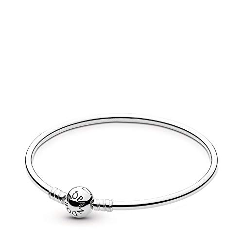 Pandora Sterling Silver Bangle Bracelet, 8.3 in